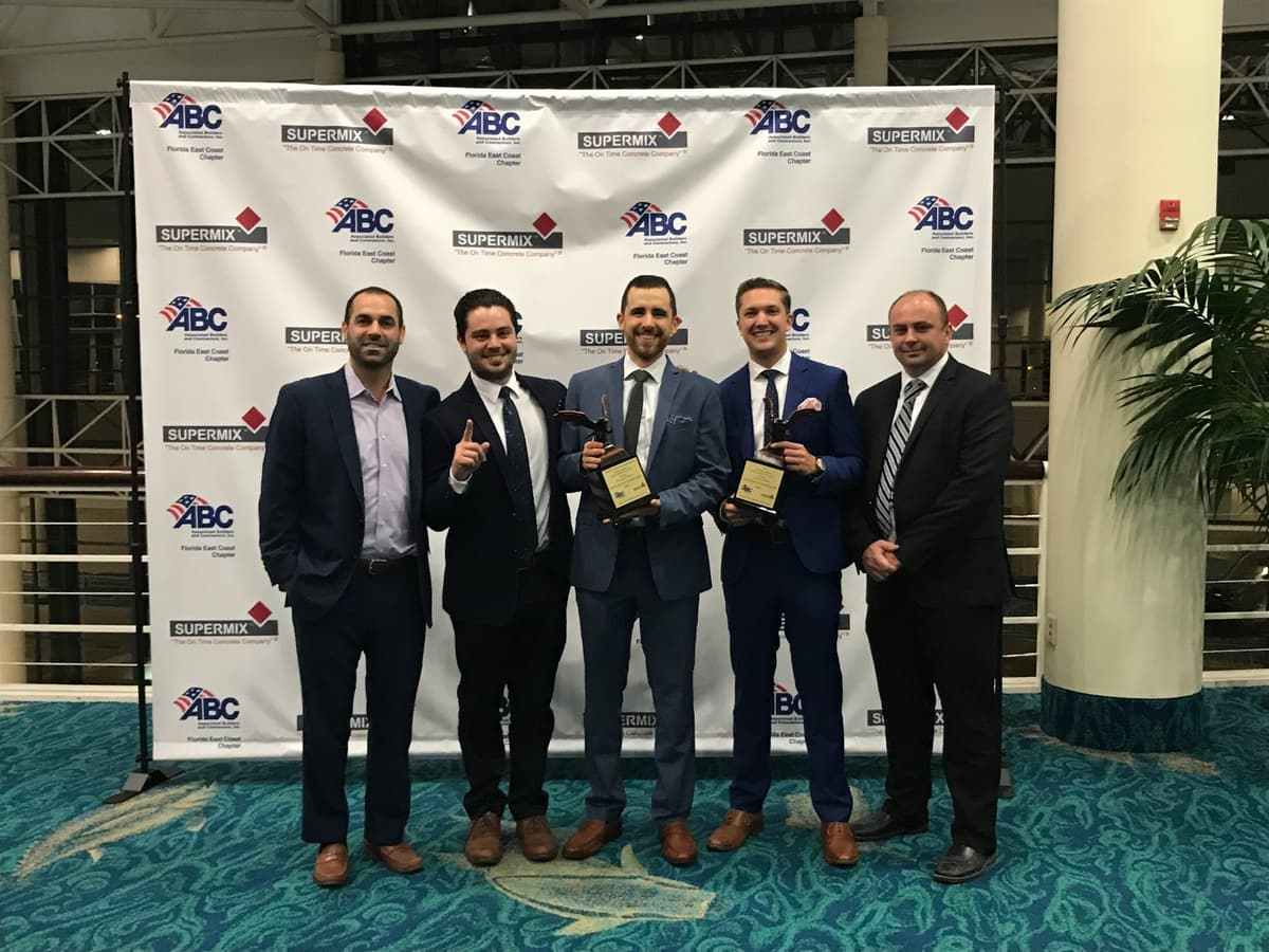 HITT South Florida Accepts Eagle Awards