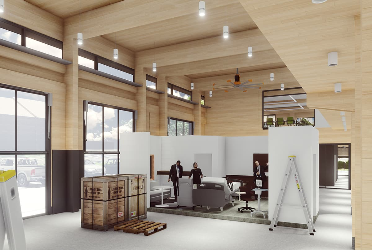 Interior Lab Rendering