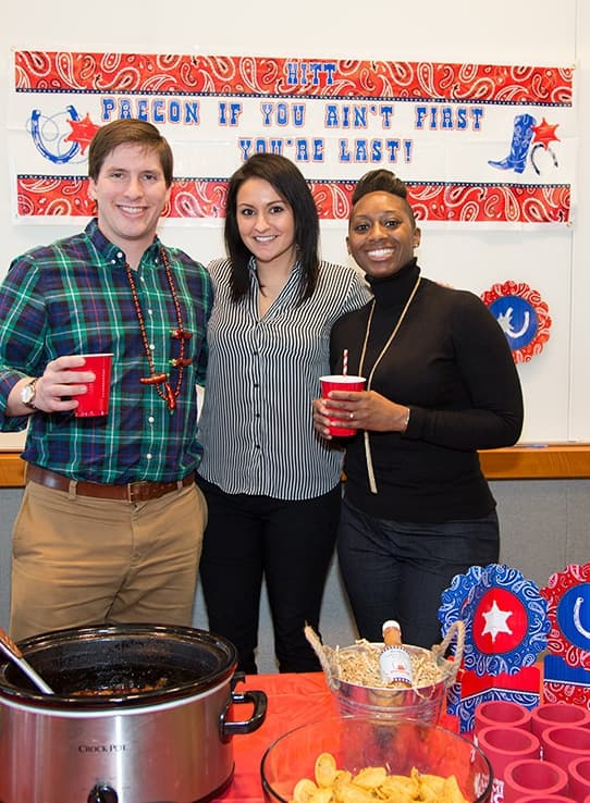Team Precon at the 2015 Chili Cook-off