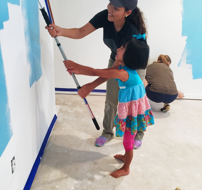 Make-A-Wish Painting