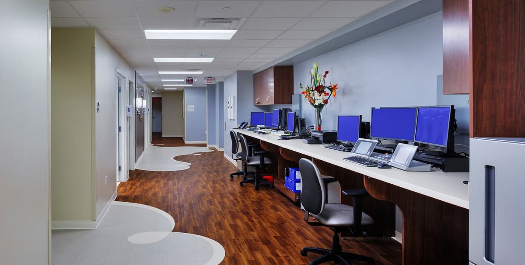 the george washington university hospital radiation oncology center hitt - Gwu Interior Design