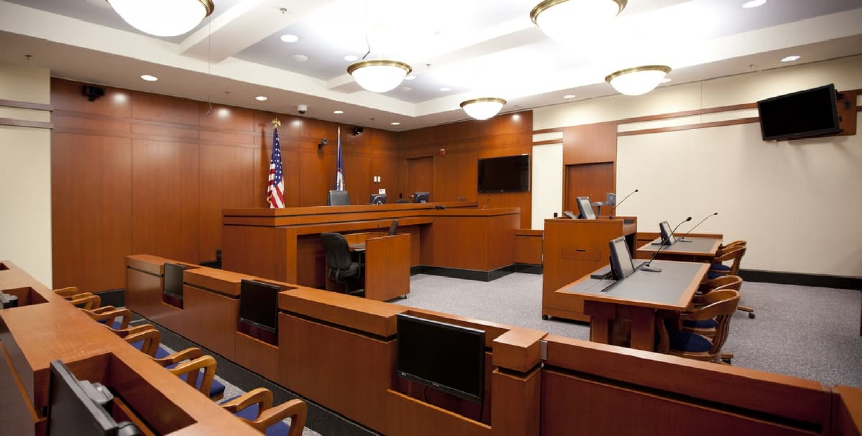 Jennings Building Courtroom