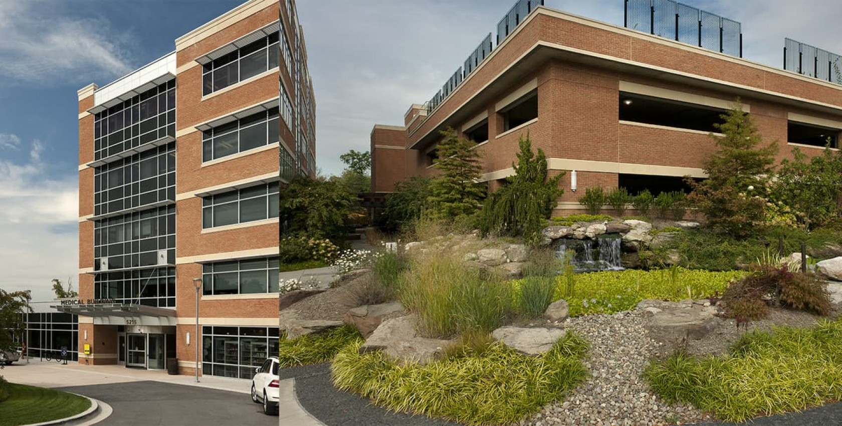 Sibley MOB, Garage, and Cancer Center, Healthcare